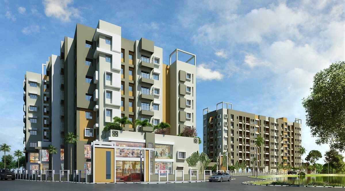 residential and commercial flat at south kolkata